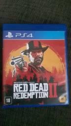 Título do anúncio: Red dead redemption 2 com on-line 2 cds