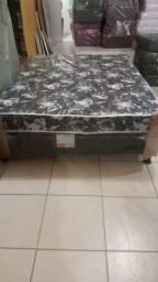 Cama Box de Casal Confort Black