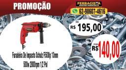 Furadeira De Impacto Schulz Fi500p 13mm 500w 2800rpm 1/2 Pol