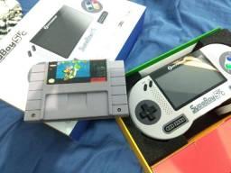 Portátil Super Nintendo colecionador