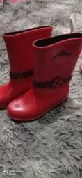 Bota de chuva menina