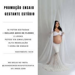 Fotografo Gestante Estúdio R$149,90