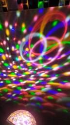 Globo de Luz c/ Caixa de Som Bluetooth