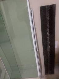 Janela com pedra soleira inclusa 1.00x1.20
