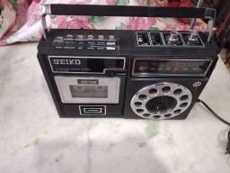 Rádio gravador seiko