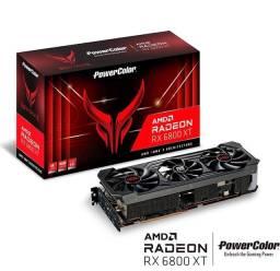 Placa De Video Power Color Rx 6800 xt Red Devil 16gb