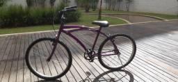 Bicicleta Aro 26 Roxa Seminova