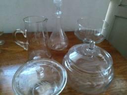 Peças de vidro