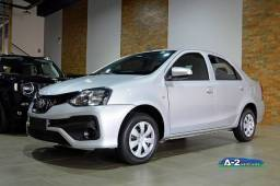 ETIOS 2018/2019 1.5 X PLUS SEDAN 16V FLEX 4P AUTOMÁTICO
