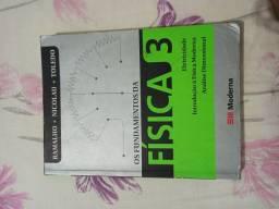 Livro Os Fundamentos da Física 3 usado