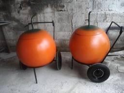 Carrinho suco de laranja