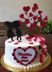 Bolo Dia dos Namorados ou Namoradas, para seu Grande Amor