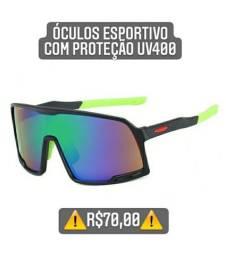 Óculos esportivo com proteção Uv400