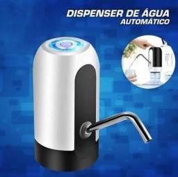 Bomba Dispenser de Água Automático Recarregável - Bebedouro.