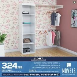 Mini closets para seu quarto