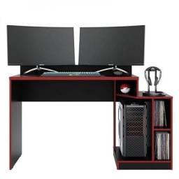 Promoção Relampago!!! Mesa Computador Gamer (Detalhe em Vermelho) - Apenas R$379,00
