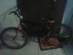 Troco em bicicleta rebaixada