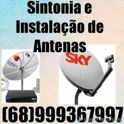 Instalação de antena vendas e sintonia