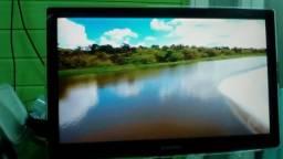 Tv/monitor lçd 24 pol sansung completa barbada