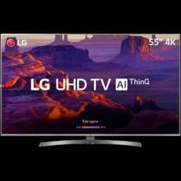 "Smart TV Led LG 55"" 55UK6530 UltraHD 4k 4Hdmi 2Usb Wi-Fi inteligencia artificial Bluetooth"