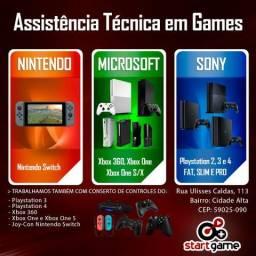Assistência Técnica em Video Game