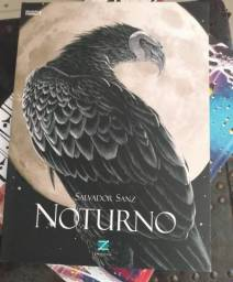 Noturno Salvador Sanz HQ Graphic Novel Raro