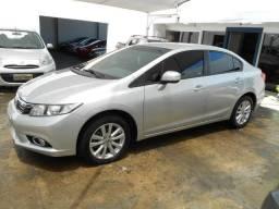 Honda civic lxl 1.8 flex automático 2012/2012 completo revisado lacrado - 2012