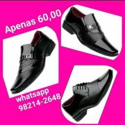 Belíssimos sapatos sociais ( novos e de fábrica)
