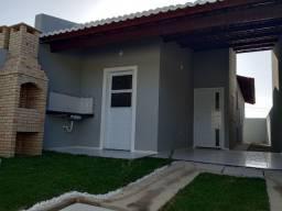 Casa 2 quartos, 2 wc's, área gourmet, sinal a partir de R$ 1 mil