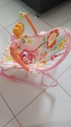 Cadeirinha bebê Descanso Vibratória musical