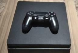 PS4 slim +controle+ cabo HDMI