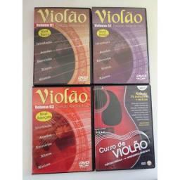 DVD's para aprender violão