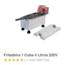 Fritadeira elétrica industrial *