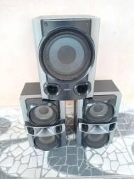 3 caixa de som sony