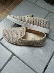 Vendo lote de sapato e sandália n 37