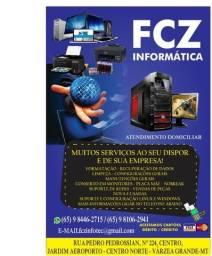 Fcz informatica assistência técnica em computadores e notebooks