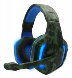 Headset  gamer  com led usb px6