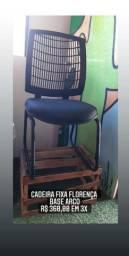 Cadeira diretor fixa base arco