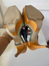 Sandália N38 R$ 80,00