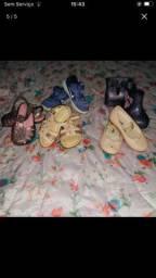 Lote sapato menina número 22