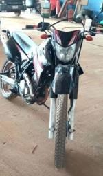 Moto Lander 250 cc, ano 2008 cor preta, ler descrição do anuncio