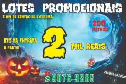 Semana do Halloween em Extrema Lotes 200 metros na promoção de arrepiar