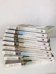 Coleção completa dos livros da família Bridgertons da Julia Quinn em ótimo estado