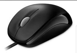 Mouse Microsoft com fio Usb óptica Original