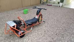 Trike drift com motor 80cc