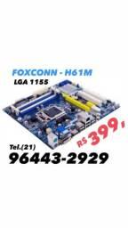 Placa Mãe Foxconn H61M