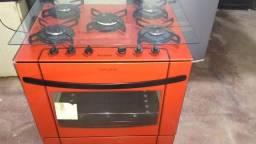 Vendo fogão de 5 bocas funcionando , todo elétrico