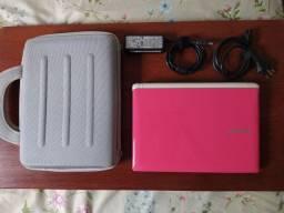 Netbook samsung n150 plus rosa