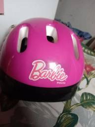 Capacete Barbie