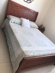 Kit quarto cama + 2 mesas cabeceira